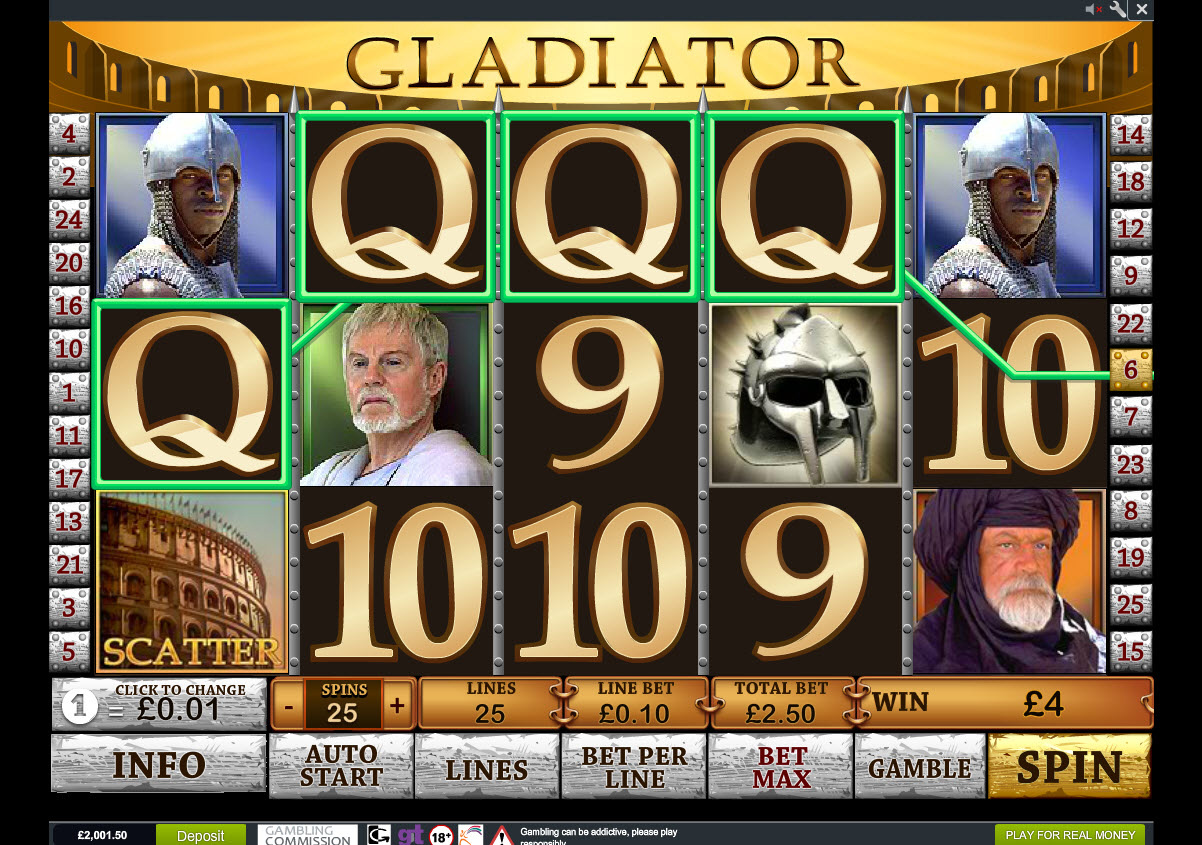 Betfair Casino Slots Screenshot