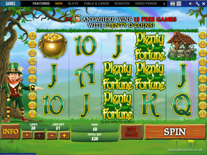 Coral Casino Slots Screenshot