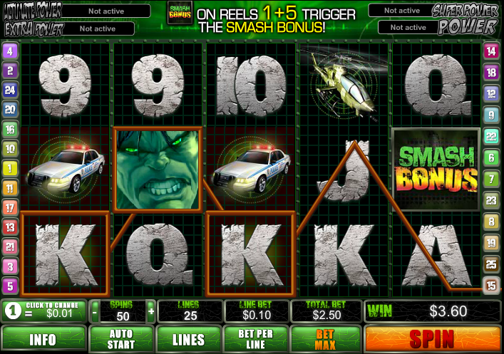 Gala Casino Slots Screenshot