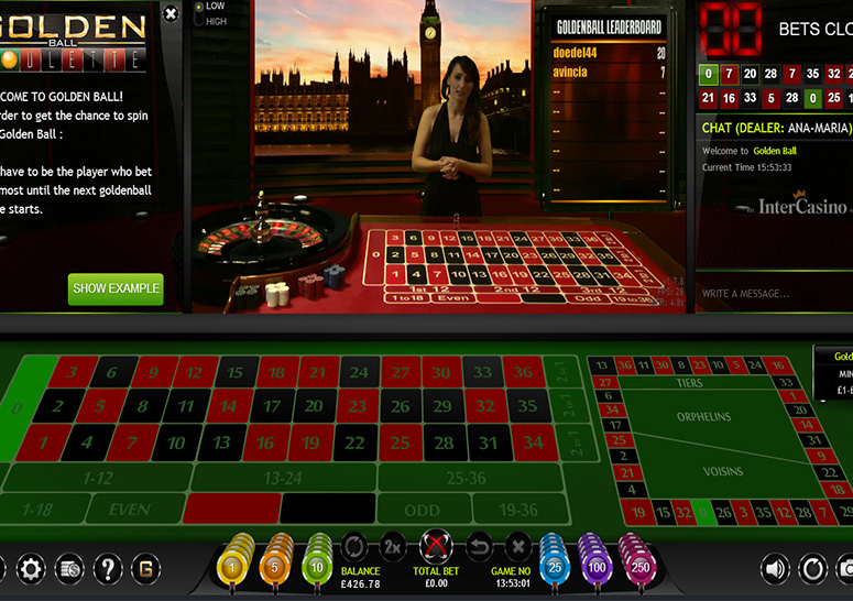 Intercasino Roulette  Screenshot