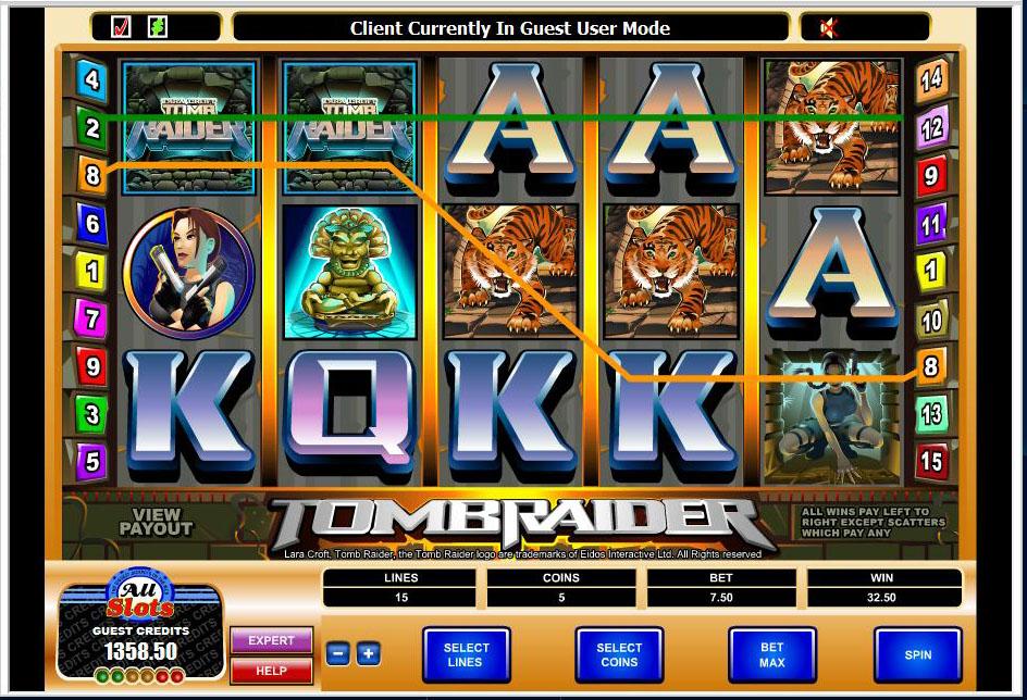 Tomb raider slots casino casino de cavallaire