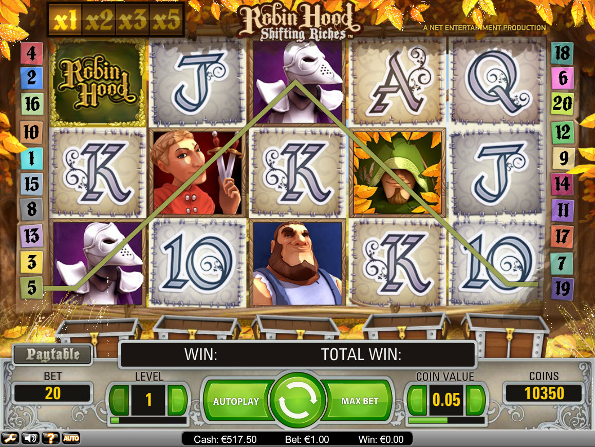 Mr Green Slots Screenshot