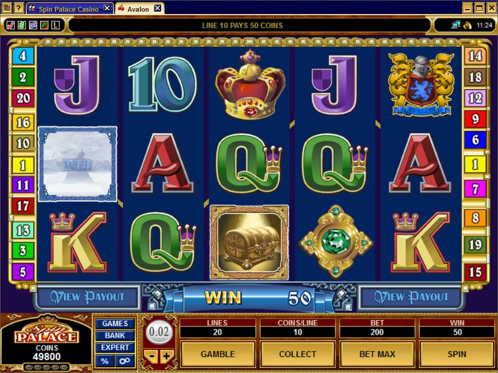 Spin UK Slots Screenshot